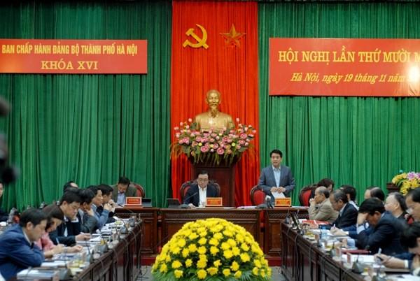 Theo Chủ tịch UBND TP Nguyễn Đức Chung, nhờ giảm chi thường xuyên,