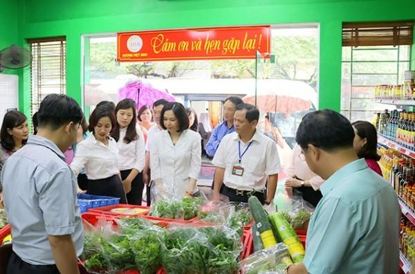 Mô hình cửa hàng thực phẩm an toàn có kiểm soát tại quận Thanh Xuân