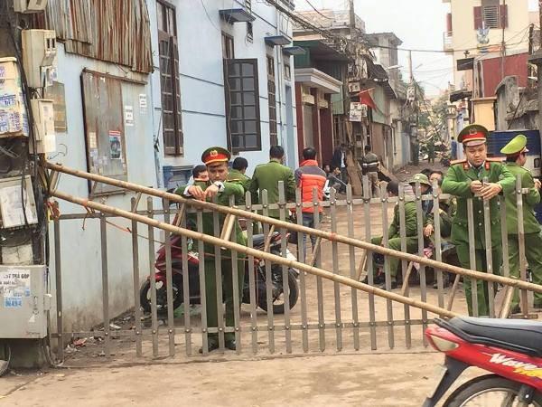 Chiều 3-1, cơ quan chức năng vẫn đang phong tỏa hiện trường để làm rõ nguyên nhân vụ nổ ở Yên Phong, Bắc Ninh