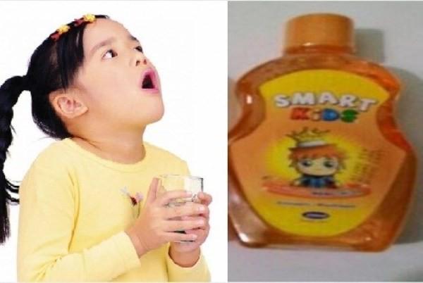 Cục Quản lý dược yêu cầu thu hồi Nước súc miệng trẻ em Smart Kids (ảnh minh họa)