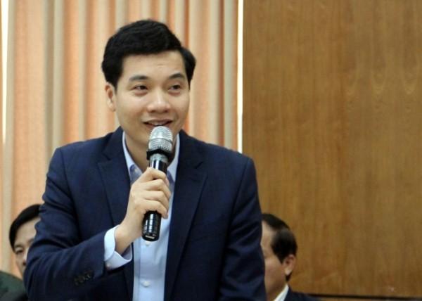 Ông Nguyễn Việt Hà, Phó Giám đốc Sở Tài chính Hà Nội