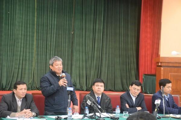 Phó Giám đốc Sở NN&PTNT Hà Nội Trần Thanh Nhã trả lời thêm báo chí về vụ hàng nghìn công nhân thủy lợi bị nợ lương