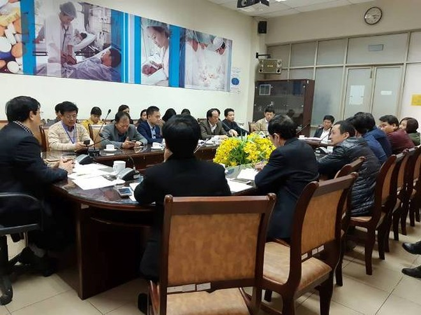 Bộ Y tế họp khẩn với các bệnh viện bàn biện pháp phòng chống dịch cúm