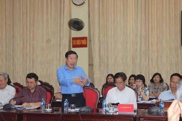 PGS.TS Lê Minh Thông phân tích sự cần thiết phải xây dựng chính quyền đô thị