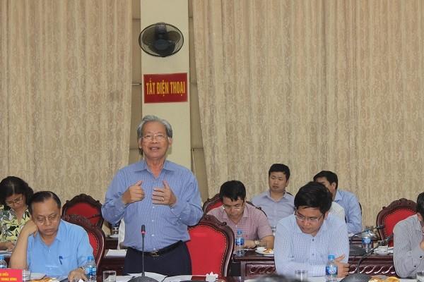Nguyên Thứ trưởng Bộ Nội vụ Thang Văn Phúc góp ý về mô hình chính quyền đô thị