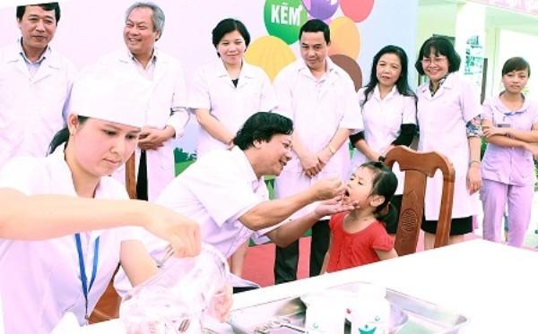 Trong chiến dịch Ngày vi chất dinh dưỡng năm nay, Sở Y tế Hà Nội sẽ tổ chức nhiều đoàn