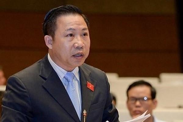 ĐBQH Lưu Bình Nhưỡng phát biểu tại Quốc hội