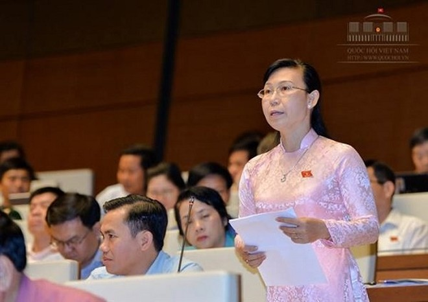 ĐBQH Phan Thị Mỹ Dung (Long An) băn khoăn về thu hồi tài sản do tham nhũng