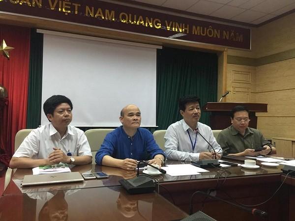 Bộ Y tế họp báo về phiên tòa xét xử bác sĩ Hoàng Công Lương, chiều 4-6