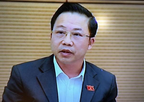 ĐBQH Lưu Bình Nhưỡng đặt câu hỏi chất vấn với Bộ trưởng Bộ Công an