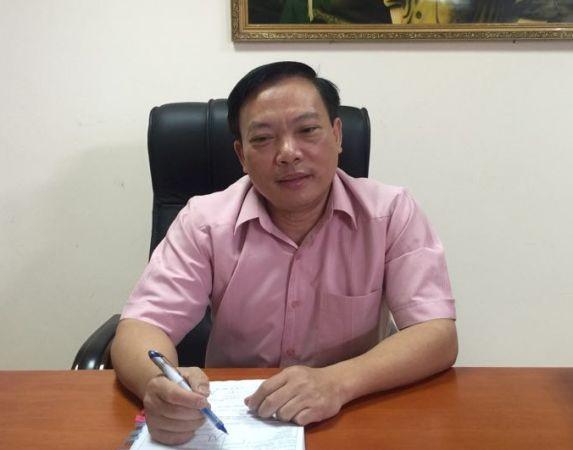 Ông Hoàng Đình Cảnh trả lời báo chí sáng nay