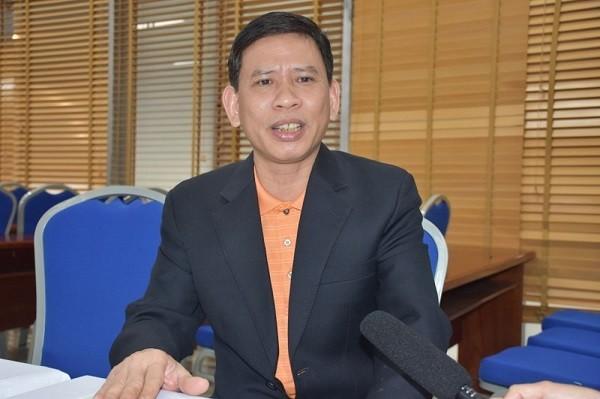 Phó Giám đốc Bệnh viện Phụ sản Hà Nội Đỗ Khắc Huỳnh chia sẻ với báo chí