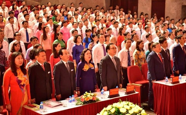 Các đại biểu dự Đại hội đại biểu Hội Nông dân Thành phố lần thứ IX