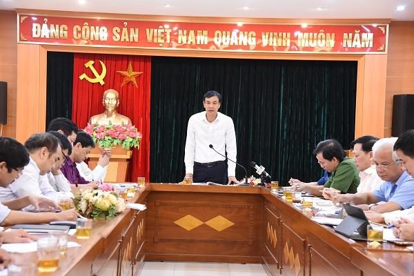 Phó Bí thư Thành ủy Đào Đức Toàn phát biểu chỉ đạo tại buổi làm việc
