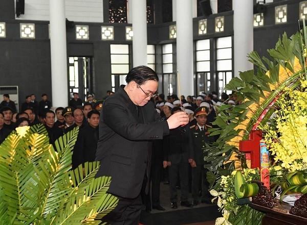 Bí thư Thành ủy Hà Nội Hoàng Trung Hải