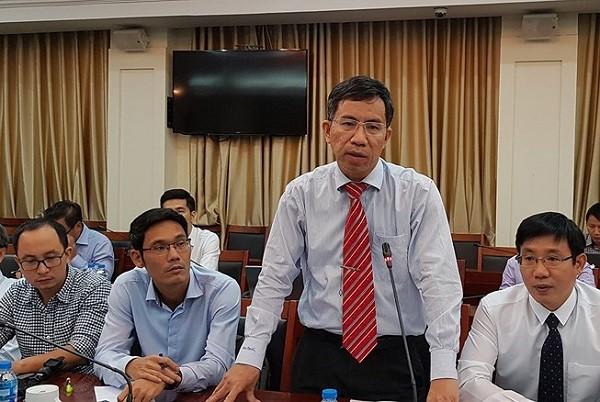 Ông Vũ Thanh Sơn thông tin về nội dung cơ bản dự thảo Quy định trách nhiệm nêu gương của cán bộ, đảng viên