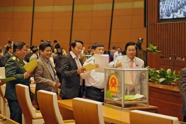 Tại kỳ họp thứ 6 tới đây, Quốc hội sẽ lấy phiếu tín nhiệm 48 người