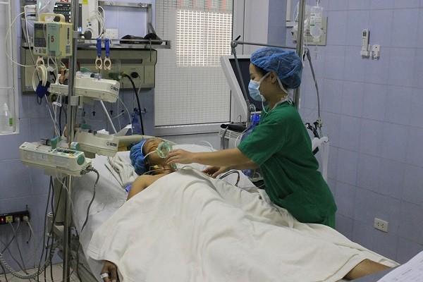 Nữ bệnh nhân có tiến triển sức khỏe tốt sau ca phẫu thuật