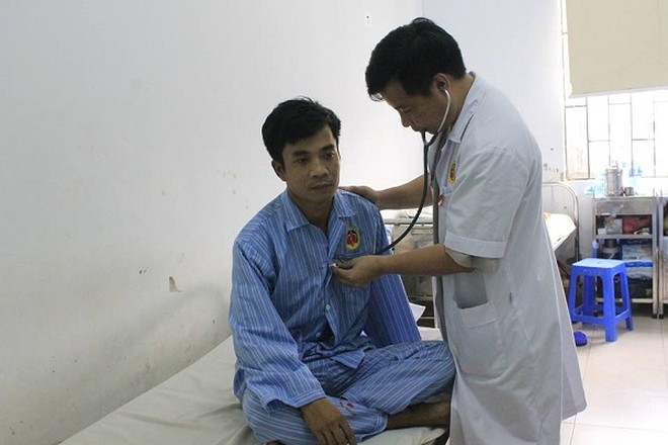 Sau khi được can thiệp bằng phương pháp mới, bệnh nhân đã hồi phục tốt