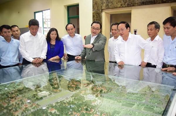 Bí thư Thành ủy Hà Nội đề nghị Sở Quy hoạch - Kiến trúc phải tập trung trí tuệ để nghiên cứu, đề xuất điểm nhấn đô thị