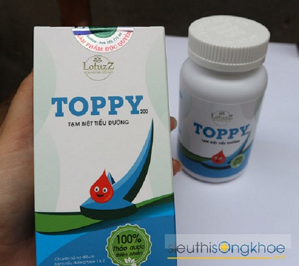 Sản phẩm Thảo dược Toppy được quảng cáo gây hiểu nhầm có tác dụng như thuốc chữa bệnh