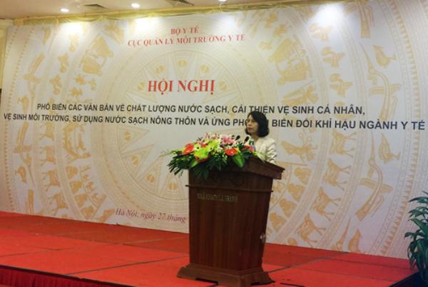 PGS.TS Nguyễn Thị Liên Hương phát biểu tại hội nghị