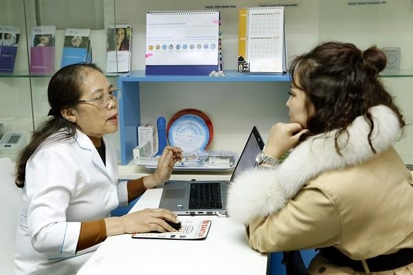 Tư vấn và cung cấp dịch vụ chăm sóc SKSS có chất lượng cho các phụ nữ trong khuôn khổ dự án