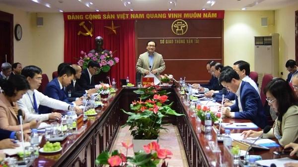 Bí thư Thành ủy Hoàng Trung Hải làm việc với Sở GTVT Hà Nội