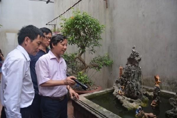 Sở Y tế Hà Nội kiểm tra công tác phòng chống sốt xuất huyết ở quận Hoàng Mai