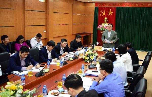 Bí thư Thành ủy Hoàng Trung Hải làm việc với Sở Khoa học và Công nghệ
