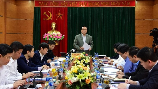 Bí thư Thành ủy phát biểu tại buổi làm việc