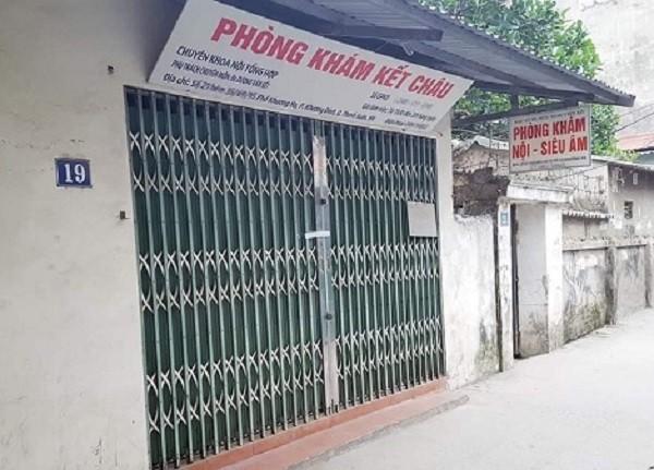 Phòng khám Kết Châu đã bị đình chỉ hoạt động, thu hồi giấy phép