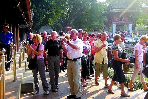 Lượng khách du lịch quốc tế lưu trú tại Hà Nội tiếp tục tăng cao·trong 3 tháng đầu năm 2019