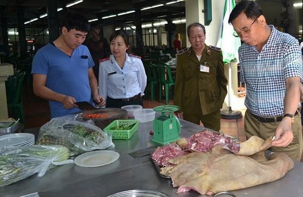 Hà Nội thành lập 4 đoàn thanh tra liên ngành ATTP cấp thành phố trong Tháng hành động vì ATTP năm 2019