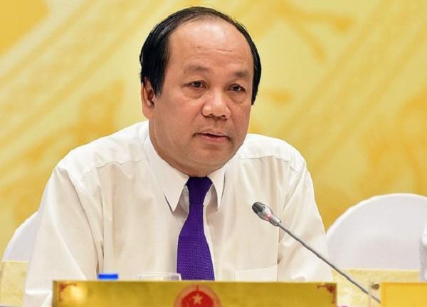 Bộ trưởng - Chủ nhiệm VPCP Mai Tiến Dũng trả lời báo chí