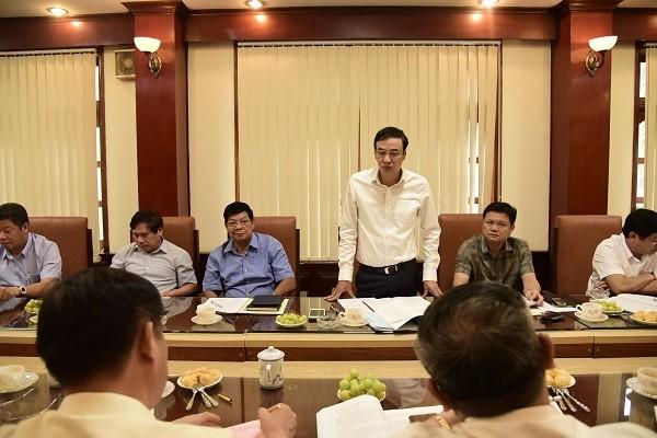 Phó Bí thư Thành ủy Hà Nội Đào Đức Toàn làm việc với quận Thanh Xuân