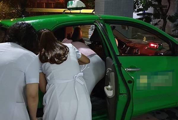 Kịp thời cấp cứu cho 2 mẹ con sản phụ đẻ rơi ngay trên xe taxi (Ảnh minh họa)