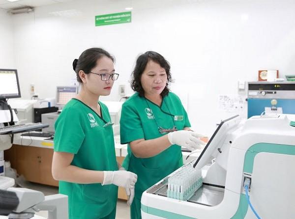 Các mẫu test của gần 500.000 người dân được chuyển về 3 bệnh viện để xét nghiệm sàng lọc ung thư đại trực tràng
