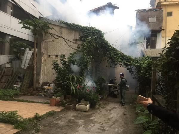 Phun hóa chất diệt muỗi SXH chỉ có tác dụng trong một thời điểm nhất định