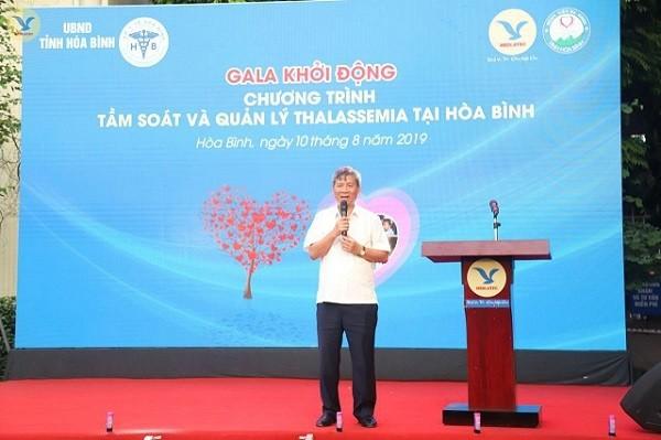 GS.TS Nguyễn Anh Trí phát biểu tại Gala