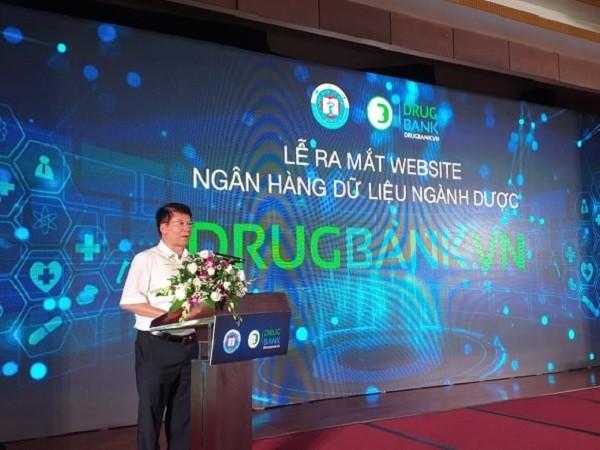 Thứ trưởng Bộ Y tế Trương Quốc Cường phát biểu tại buổi lễ