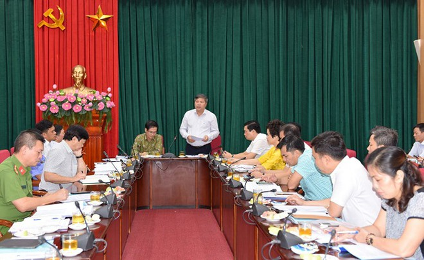 Giám đốc BHXH thành phố Hà Nội Nguyễn Đức Hòa đề nghị tăng cường kiểm tra việc trục lợi quỹ BHYT