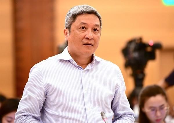 Thứ trưởng Bộ Y tế Nguyễn Trường Sơn thông tin về chương trình sữa học đường