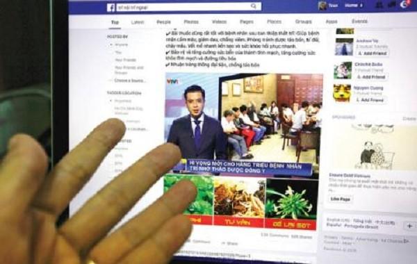Giả danh cả cơ quan truyền thông bằng cách cắt ghép hình ảnh để quảng cáo thực phẩm chức năng