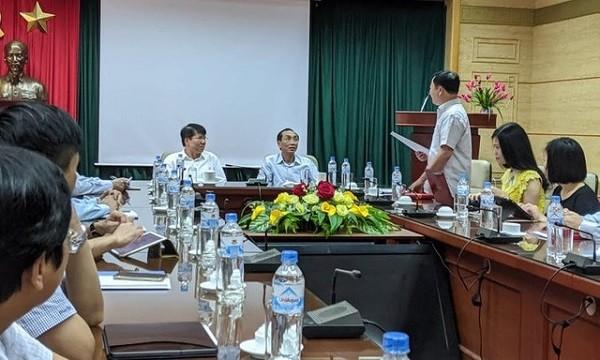 Buổi công bố kết luận của thanh tra Chính phủ tại Bộ Y tế sáng 20-9