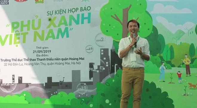 """Họp báo khởi động chiến dịch """"Phủ xanh Việt Nam"""" ở Hà Nội"""