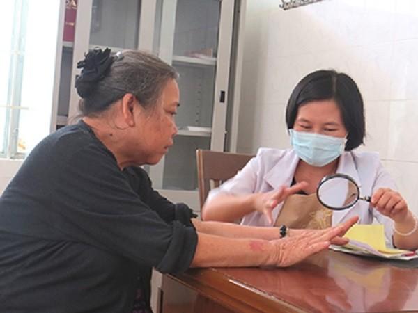 Khám bệnh ở Bệnh viện Da liễu Trung ương