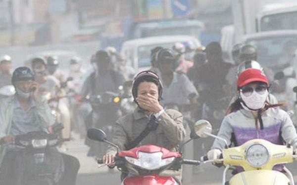 Ô nhiễm không khí ở Hà Nội và TP HCM đang ở mức nghiêm trọng