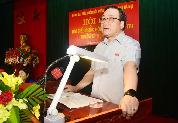 Bí thư Thành ủy Hà Nội: Cần sự ủng hộ, chung tay của người dân để bảo vệ môi trường