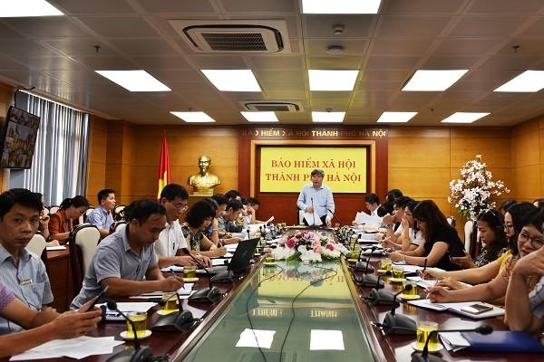 BHXH TP Hà Nội họp triển khai nhiệm vụ 3 tháng cuối năm 2019